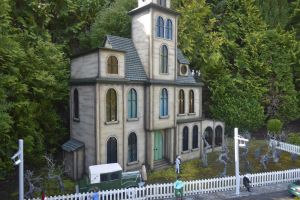 The Addams Family Residence by Clangston