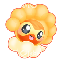 Castform Sunny by Clinkorz