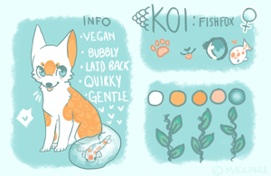 Koi Ref 2013 by Magicpawed