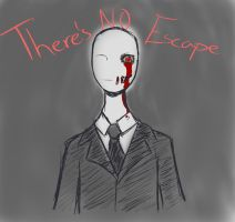 Slender sketch by CaosDraws