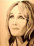 The one and only, JK Rowling by Dobbylove