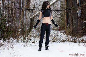 X-23 in the Snow by ContagiousCostuming