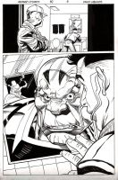 Uncanny X Force 30 BW preview by BroHawk