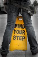 Mind Your Step by silendriel
