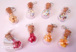 Candy shoppe mix necklace by ilikeshiniesfakery