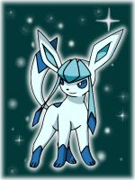 Shiny Glaceon by Umbreon06
