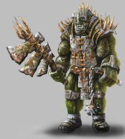 Cartoon Orc by Masscape