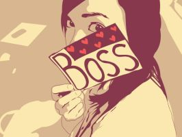 Whose the boss? by deftbeat