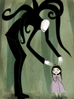 Slenderman by purplesam