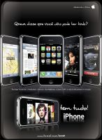iPhone Magazine Ad 2 by RogerLima