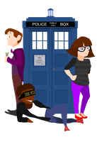 Wizard and Time Lord by zoelajoan