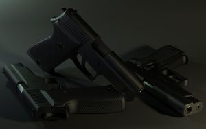 Sig Sauer P220 - Re-Render by HaMsTeYr
