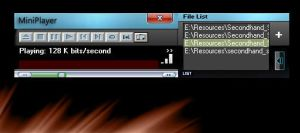 MiniPlayer by Viscocent
