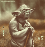 Palette Challenge #5 of 18 - Yoda by YouHaveAShortMemory