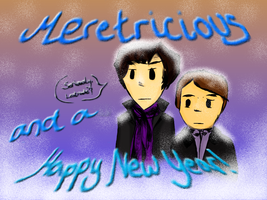 Meretricious, and a Happy New Year by InfN555