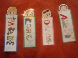 Family bookmarks by TOM-CATS