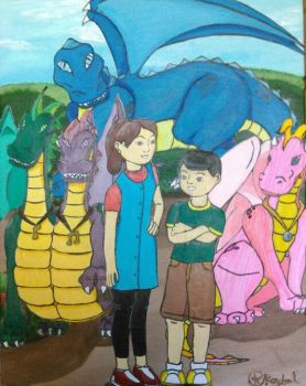 Dragon Tales by aroybal1996