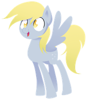 A very stylistic Derpy Hooves. by MikeTheUser