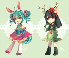 Floral adopts [CLOSED] by Soilado