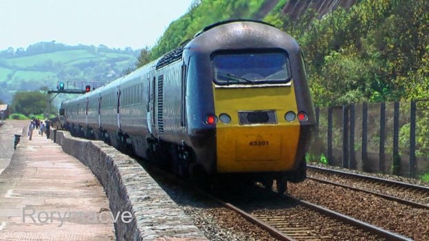 Cross Country 43301 at Teignmouth by The-Transport-Guild