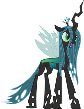 queen chrysalis by nausicaaedu1