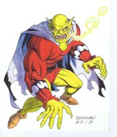 Etrigan Color by DerecDonovan
