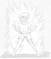 When your OC tries to go Super Sayian by sujinjian