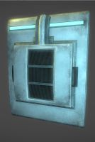 Sci fi Wall panel by samdrewpictures