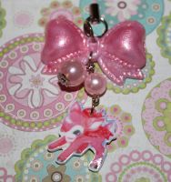 Angelic Pretty Deer Cell Charm by honeyheavenly