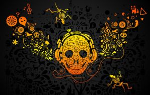 Rock skull by chicho21net