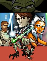 Clone Wars Collage by grantgoboom