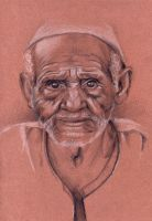 Study old man 2 by hnedoocko