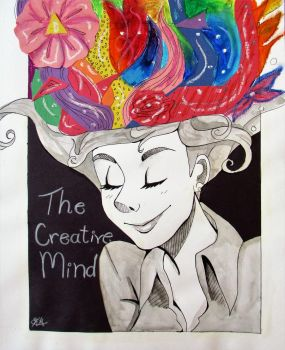 The creative mind by HappySmileGear