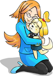 Mona and Isabelle by AlkseeyaKC