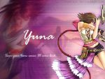 Yuna pink wallpaper by demeters