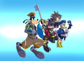 Kingdom Hearts by jdcunard