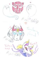 Ghosts Prowl and Kyubi by Kittychan2005