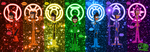 Lantern Corps: Mike's Alternate Personalities by skull1045fox