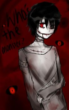 Who's the monster by Daimatsu