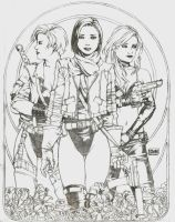 Three Muses by D--N--A