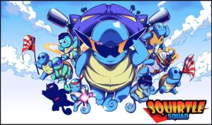 squirtle squad by beatboxsamurai