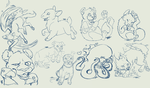 Sketches for Charity by TaksArt