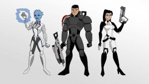 Mass Effect TAS by graphicfire