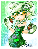 Marie and Tomatoes by ShinyMeowstic