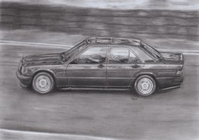 Mercedes 190e by Paty47