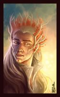 Mirkwood's King by DavinArfel