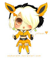 Commission: Jolteon Chibi by owhana06