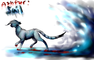 Ashfur--Sail (speedpaint) by lucelic