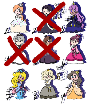 offer princess adopts 1 and 3 are still opened by IceCreamLink