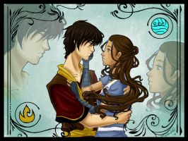 Zuko and Katara Vers 2 by TerraForever